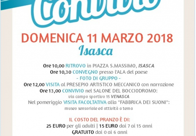Domenica 11 marzo ad Isasca il Convegno Convivio dei presepi 2018